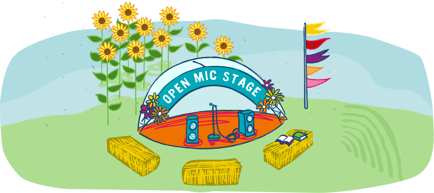 Open Mic Stage